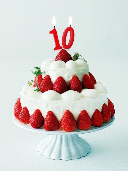 10周年記念のいちごショートケーキ recipe