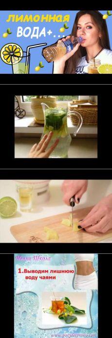 Лимонная ВОДА + мед и корица С УТРА. РЕЦЕПТЫ И ПОЛЬЗА! - YouTube
