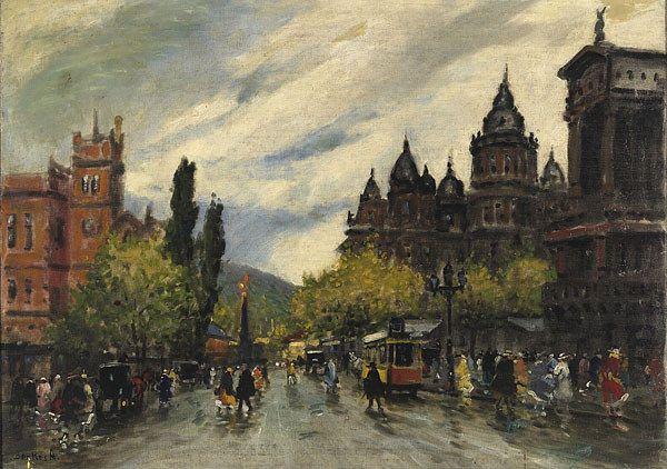 , Antal Berkes (1874-1938), BUDAPEST