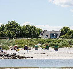 Kleines Strandhaus Stein an der Stein: 2 Schlafzimmer, für bis zu 4 Personen. Direkt am Strand in Stein mit Blick auf die Ostsee, freies WLAN | FeWo-direkt