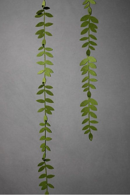 Wedding Decorations « Page 7 — Wedding Fashion...felt foliage garland????