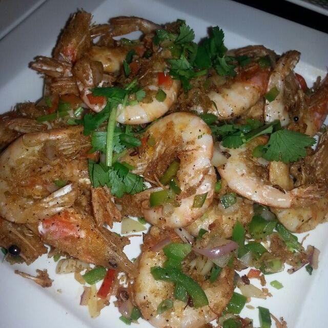 レシピとお料理がひらめくSnapDish - 24件のもぐもぐ - pepper shrimp.  Chinese new year by Polly Gelfuso