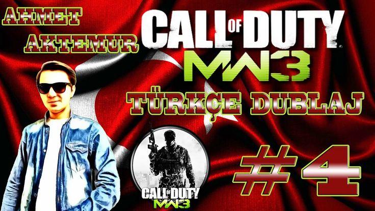 Call of Duty Modern Warfare 3 Türkçe Dublaj 4.Bölüm AFRİKA OPERASYONU !!...