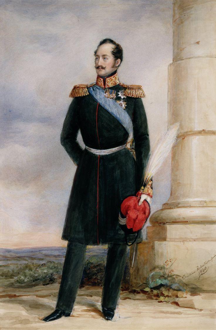 "adini-nikolaevna: "" Emperor Nicholas I of Russia by Christina Robertson. """