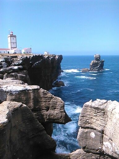 This is my country. Cabo Carvoeiro, Peniche, Portugal