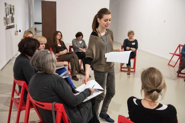 Sztuka Edukacji - konferencja  Warsztaty w CSW  / Workshops in museum