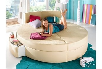 Rond bed