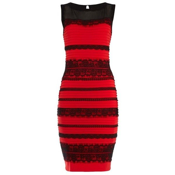 #TheDress Lace Bodycon Dress ($78) ❤ liked on Polyvore featuring dresses, lace dress, bodycon dress, bodycon cocktail dress, lacy red dress and body con dress