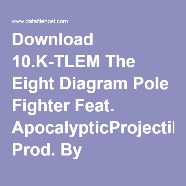 Download 10.K-TLEM The Eight Diagram Pole Fighter Feat. ApocalypticProjectile Prod. By K-TLEM.mp3