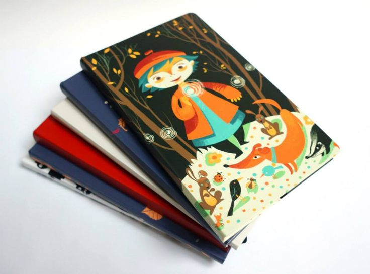 Maria Surducan illustration for ROD notebooks