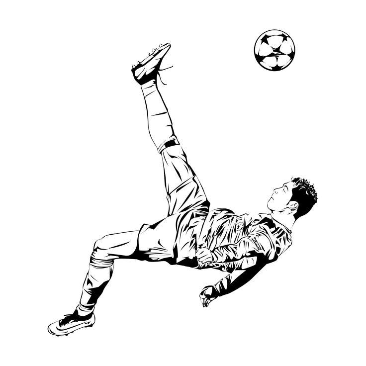 cristiano ronaldo famous goal sketch  ronaldo cristiano
