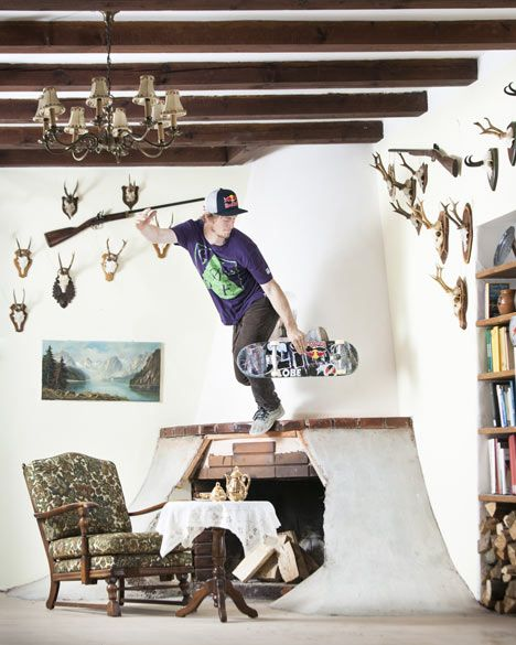 turn your house into a skateboard park - is what Philipp Schuster did