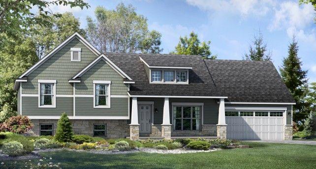 Split Level Custom Home Designs: The Lexington | Wayne Homes