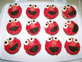 The Cellar Door Stories: From the Archives: Elmo Cupcakes