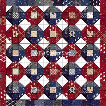 81 best Stars and Stripes Forever~ quilts images on Pinterest ... : free patriotic quilt patterns - Adamdwight.com