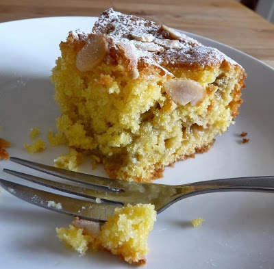Lancashire Food: Baking Brave for World Baking Day ! Rhubarb Custard cake