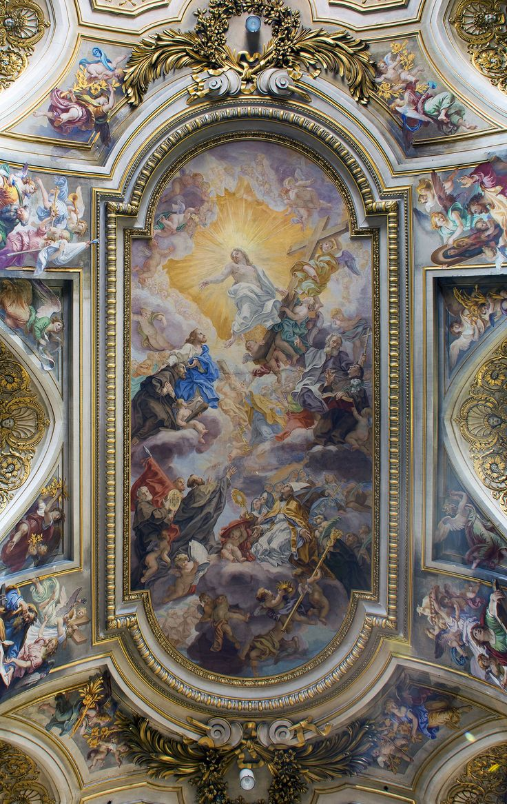 508 best ceilings images on pinterest artworks ceilings and basilica dei santi apostoli roma ceiling dailygadgetfo Gallery