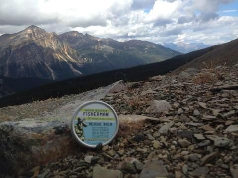 Testing Rescue Balm at Jasper National Park check out our cast a ways blog and their adventures across Canada http://ow.ly/BSoih