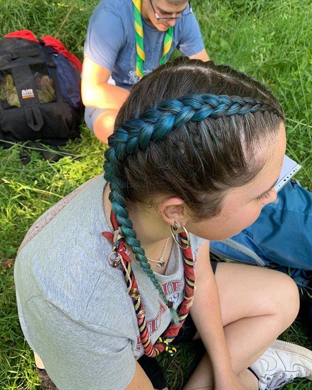#braids #dutchbraids #braiding #hair #braidstyles