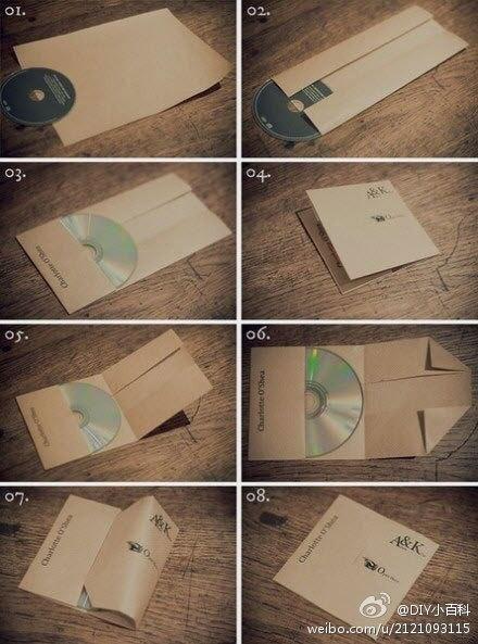 DIY CD cases!