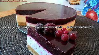 DIN SERTARUL CU REȚETE: Cheesecake cu fructe de pădure