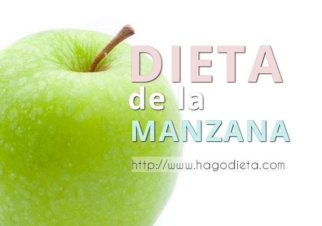 La dieta de la manzana: Como bajar de peso 4 y 7 k…