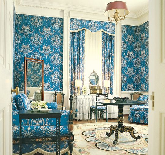 25 best images about first lady decor on pinterest white house interior nancy reagan and - Show pics of decorative sitting rooms ...