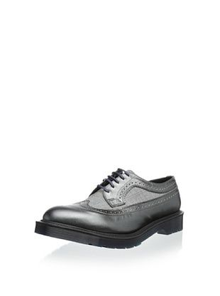 56% OFF Dr. Martens Men's 3989 Wingtip (Pewter/Grey/Blue)