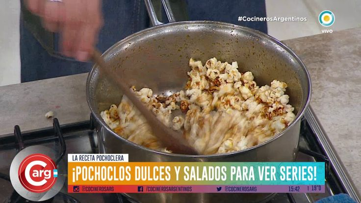 Pochoclos Dulces Y Salados Parte 2 Https Youtu Be Todur4oznym Dulces Y Salados Recetas De Comida Pochoclos