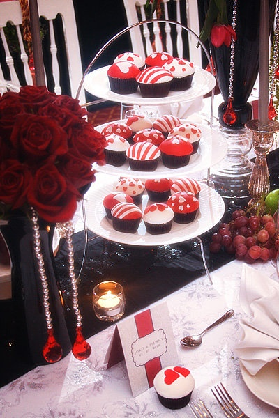 Cupcake for Wedding Decor by Mom's Kitchen