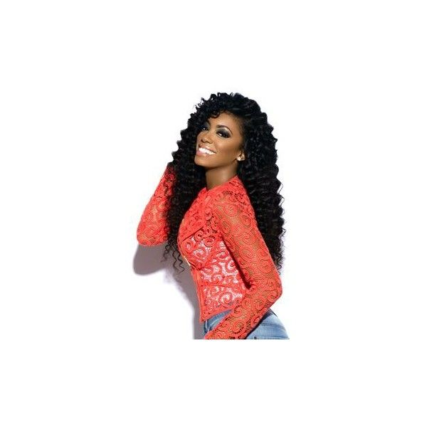 New Peruvian Curly Hair ❤ liked on Polyvore featuring accessories and hair accessories