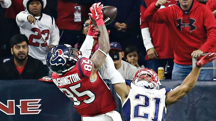 Recently signed WR Nate Washington gave Malcolm Butler some trouble