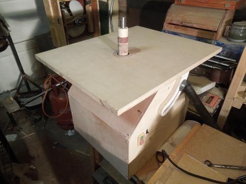 Simon Heslop's oscillating spindle sander | Best DIY Woodworking Planes Tools & Videos | Pinterest