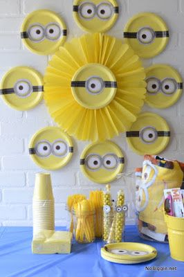 Minion+Party+Ideas+|+Crafting+in+the+Rain