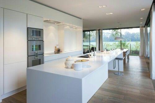 Keukenwand maelbroek v2 pinterest for Bouwen en interieur