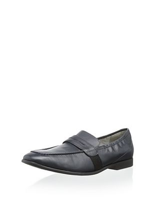 50% OFF Venettini Kid's Frank Penny Loafer (navy leather)