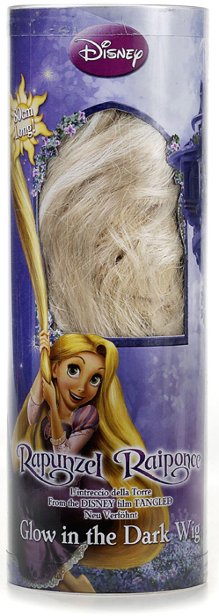 Køb Disney Princess Rapunzel Selvlysende Paryk | Legetøj Fastelavn & Udklædning | Jollyroom