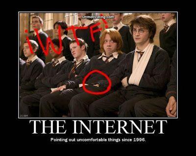 Harry Potter jokes/skämt