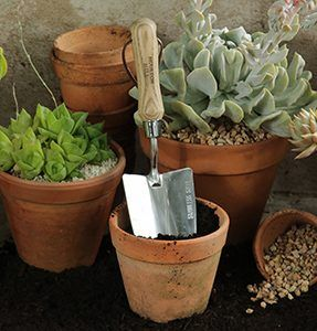 Moulton Mill Stainless Steel Hand Trowel The perfect hand trowel for planting and weeding.