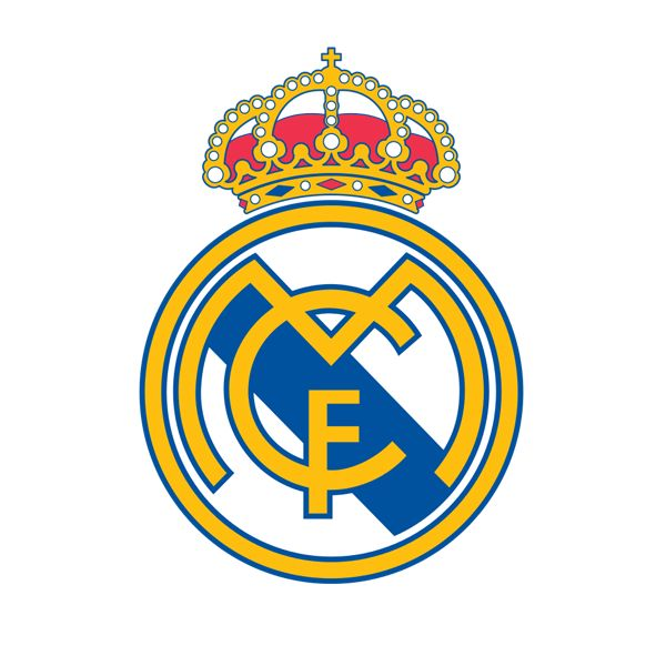 Real Madrid Decal (4x4 inches)
