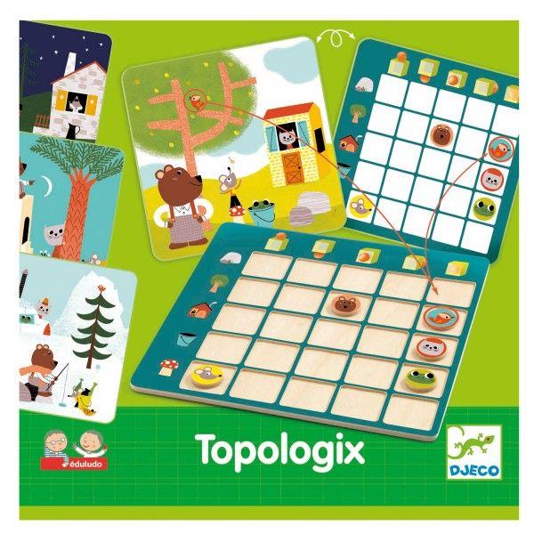 Jeu éducatif Djeco : Topologix - Djeco-08354