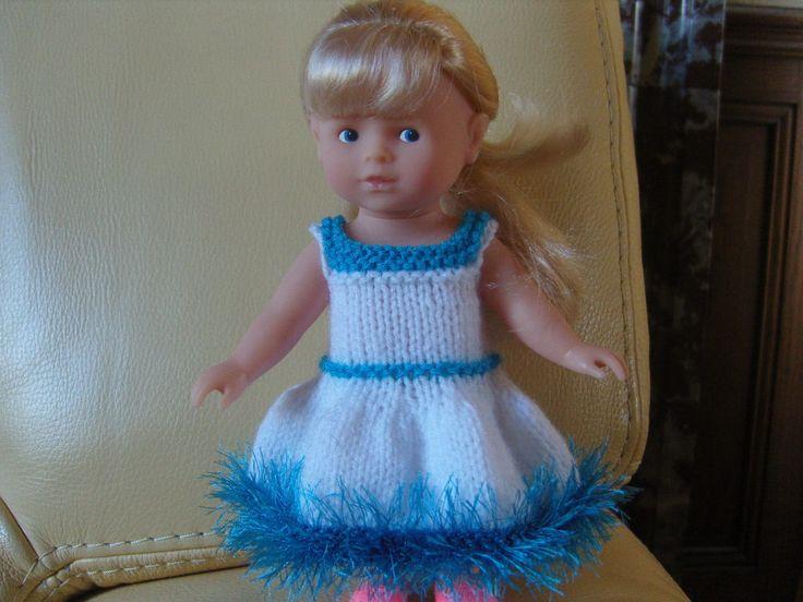 Vêtement, robe pour mini Corolline, poupée 20 cm..
