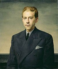 Portrait of J. Paul Getty, Gerald L. Brockhurst, 1938. © Richard Woodward. Gift of J. Paul Getty