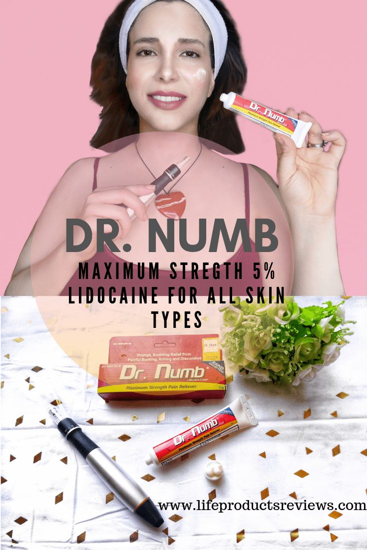 Dr Numb 5 Percent Lidocaine Skin Numb That Works For All Skin Types Combination Skin Care Skin Types Skin Care