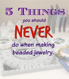 This is just what you need to know when making jewelry!