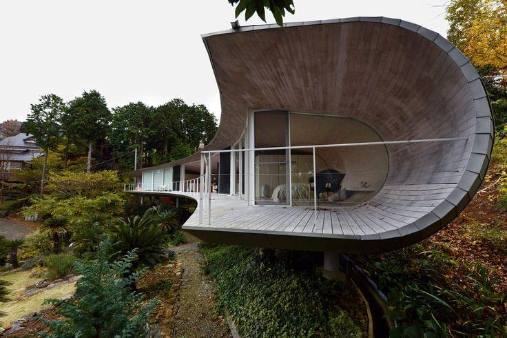 Near Tokyo, a Minimalist House on a Mountain Slope - Slide Show - NYTimes.com