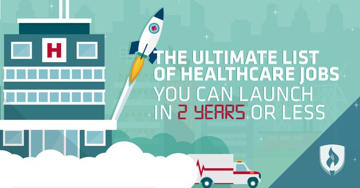 Thinking about working in healthcare? Here are 12 #healthcare jobs that don't require a Bachelor's degree!