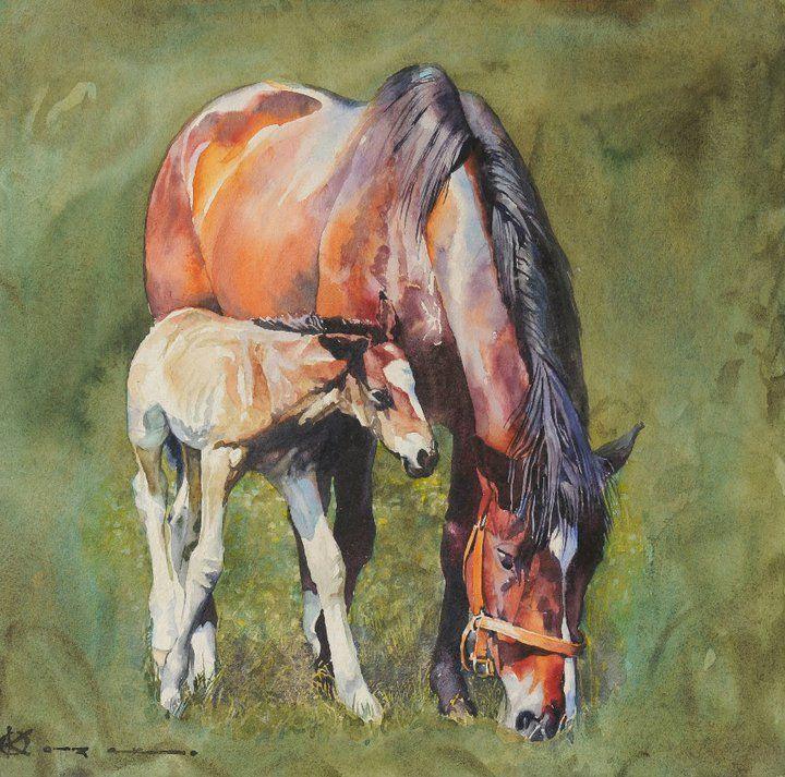Oleg KOZAK watercolor: WATERCOLOR 3