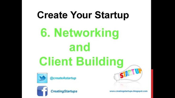 Business Networking and Client Building through Social Media, Online and Print Advertising - #Startups #Business