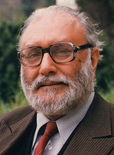 Dr. Abdus Salam  The first Muslim Nobel Laureate  Because some people don't care for worldly riches, because some people are selfless, because some people people work day and night, only for their country and people, without thinking of reward.    And because we can't thank these people enough.